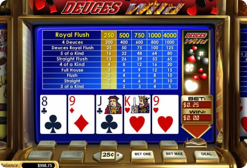 Poker slot machine odds horseshoe casino southern indiana events